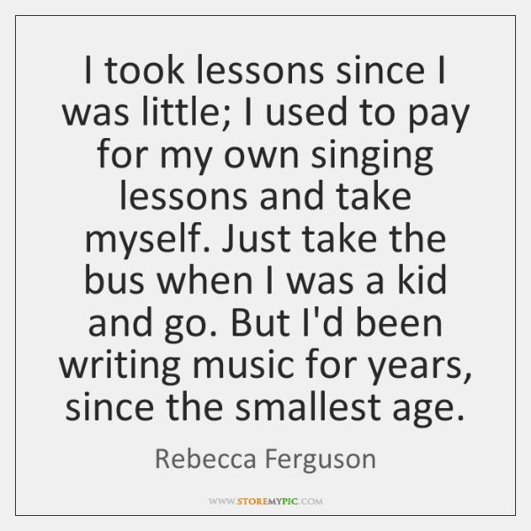 Rebecca Ferguson Quotes - - StoreMyPic