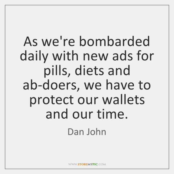 As we're bombarded daily with new ads for pills, diets and ab-doers, ...