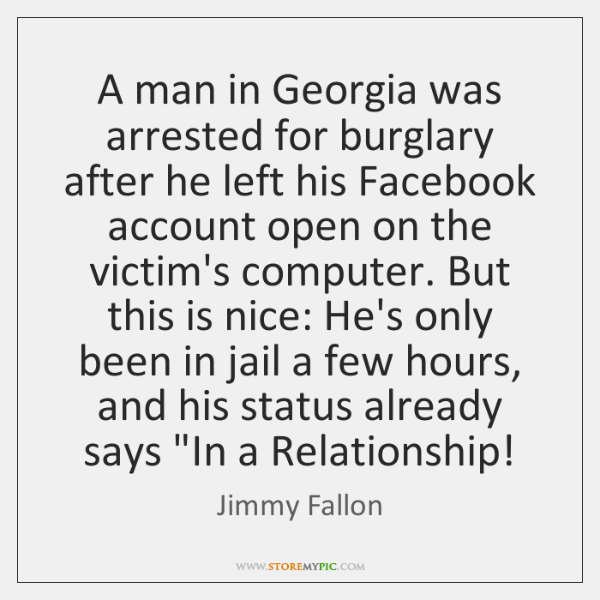 A man in Georgia was arrested for burglary after he left his ...