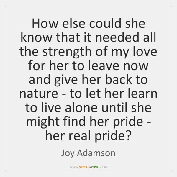 Joy Adamson Quotes Storemypic