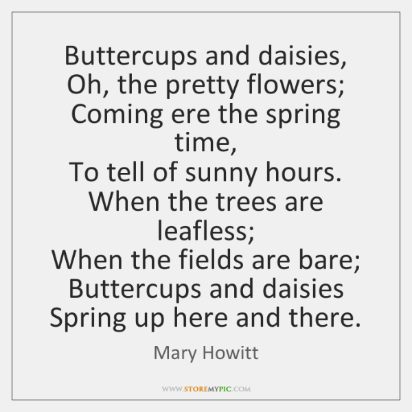mary howitt poems