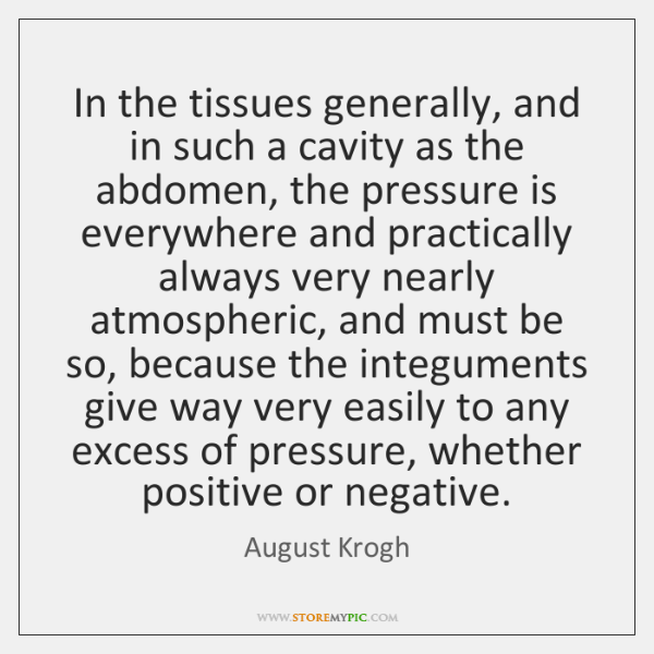 In the tissues generally, and in such a cavity as the abdomen, ...
