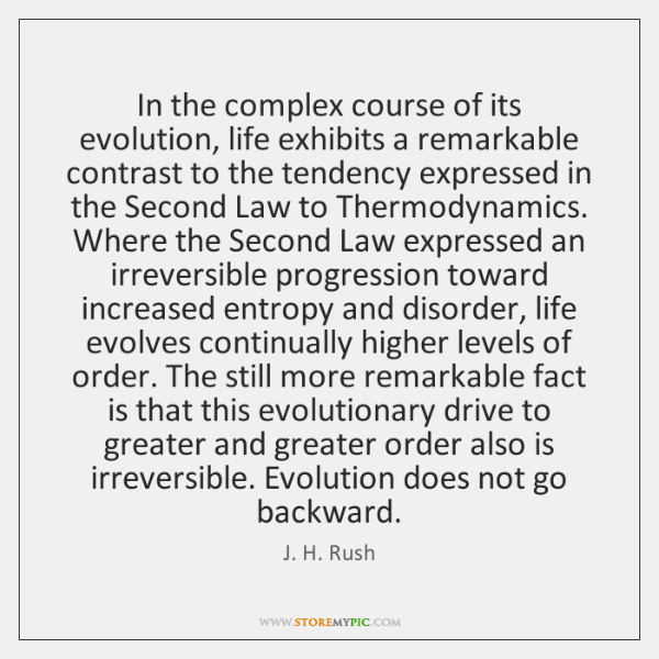 In the complex course of its evolution, life exhibits a remarkable contrast ...