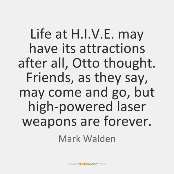 Life at H.I.V.E. may have its attractions after all, ...