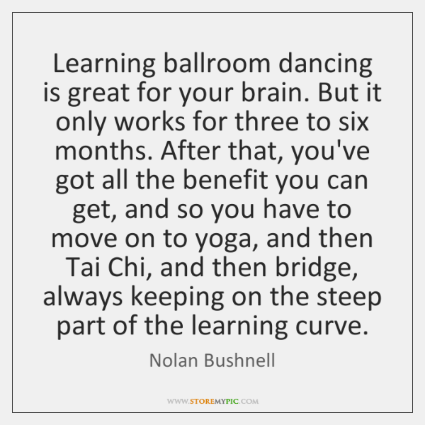 Learning ballroom dancing is great for your brain. But it only works ...