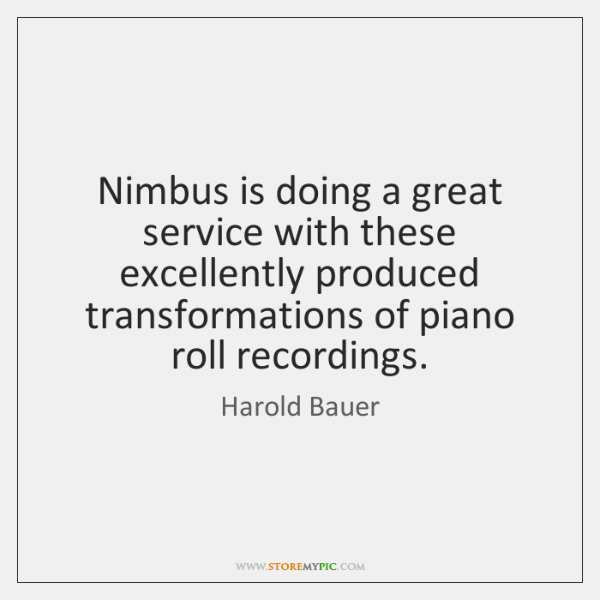 Nimbus is doing a great service with these excellently produced transformations of ...