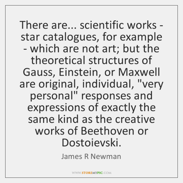 There are... scientific works - star catalogues, for example - which are ...