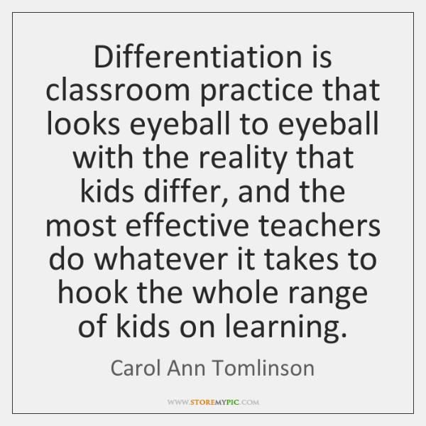 Carol Ann Tomlinson Quotes Storemypic