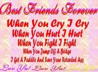 Best Friends Forever Quote Image Storemypic