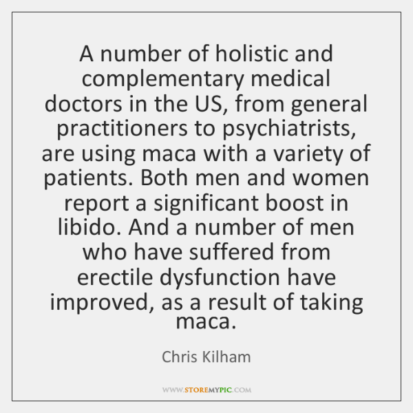 A number of holistic and complementary medical doctors in the US, from ...