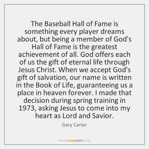 The Baseball Hall of Fame is something every player dreams about, but ...