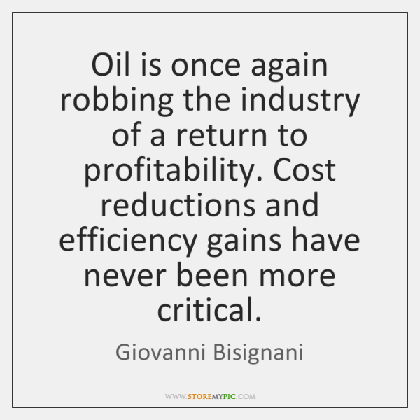 Oil is once again robbing the industry of a return to profitability. ...