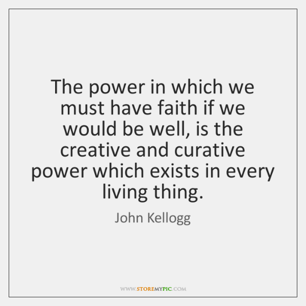 The power in which we must have faith if we would be ...