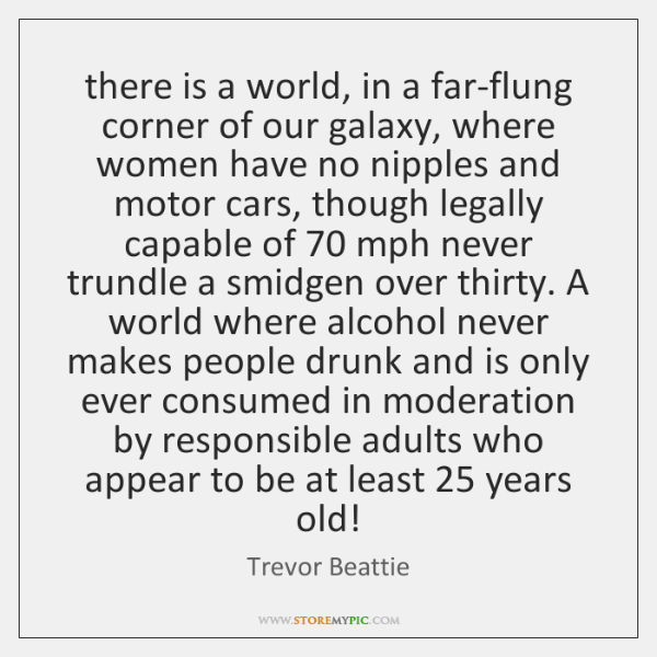 there is a world, in a far-flung corner of our galaxy, where ...