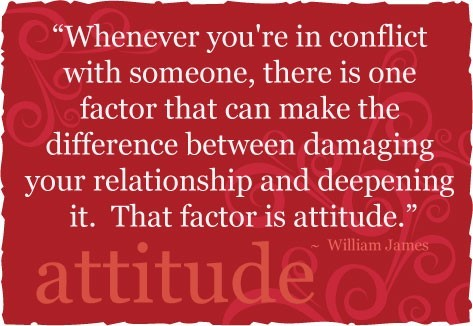 Whenever youre in conflict with someone there is one factor that can make the differe