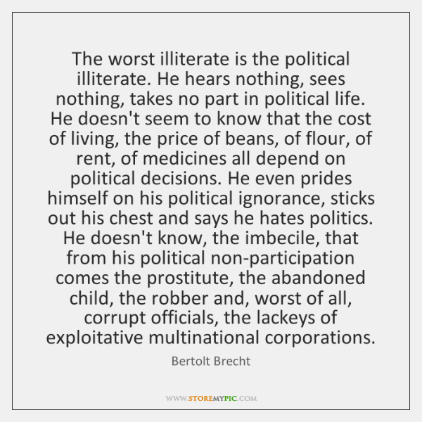 Bertolt Brecht Quotes Storemypic Page 5