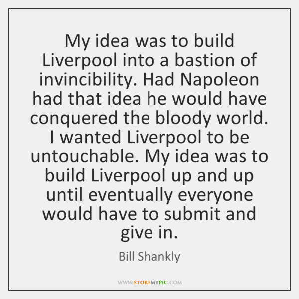 bill shankly quotes page