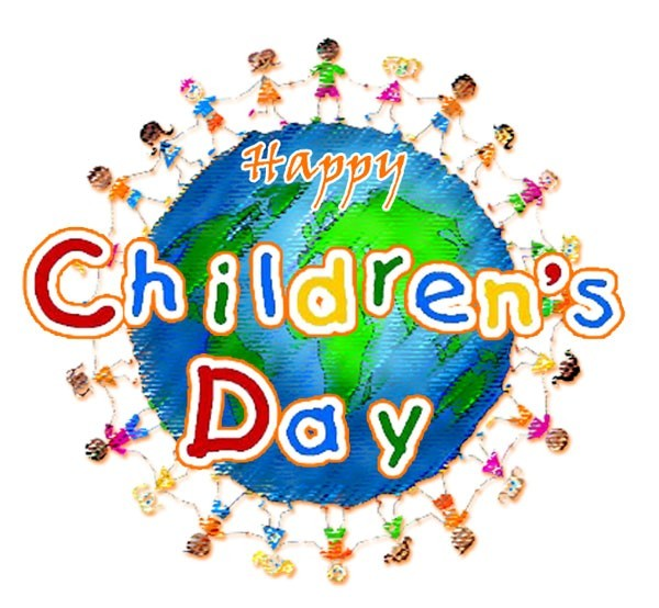 Celebrating happy childrens day worldwide picture