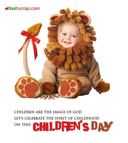 Children are the image of god happy childrens day