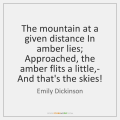 emily dickinson i never lost as much but twice