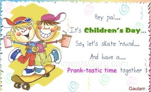 Hey its childrens day image