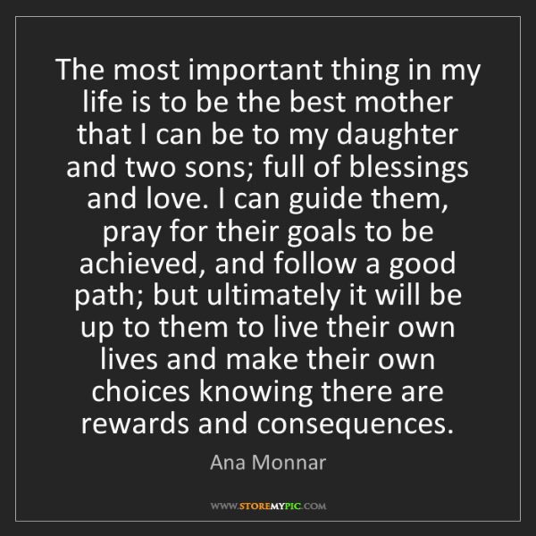 Ana Monnar: The most important thing in my life is to be the best...