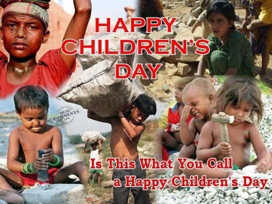 Is this what you cal a happy childrens day