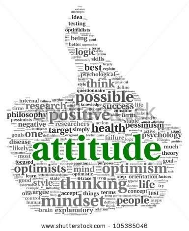 Positive attitude image