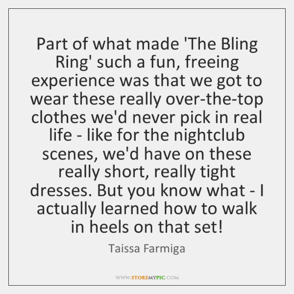 Part of what made 'The Bling Ring' such a fun, freeing experience ...