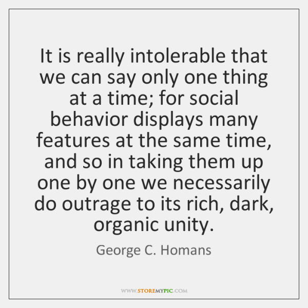 It is really intolerable that we can say only one thing at ...