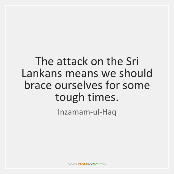 The attack on the Sri Lankans means we should brace ourselves for ...