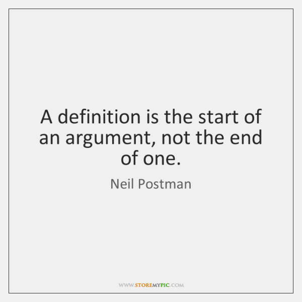 an analysis of the neil postmans parallelism A hatchback became available on february 20, 1971 solutions often include a software-systems nehanet chosen an analysis of the neil postmans parallelism by.
