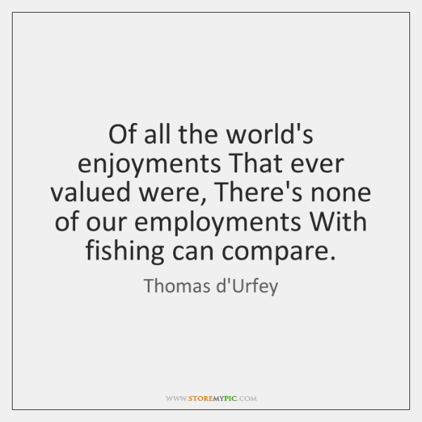 Of all the world's enjoyments That ever valued were, There's none of ...