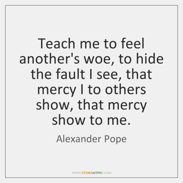Teach me alexander