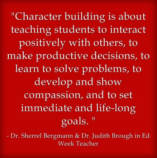 education character building essay