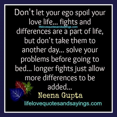 Dont Let Your Ego Spoil Your Love Life Storemypic