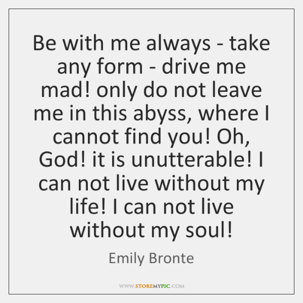 Emily Bronte Quotes Storemypic
