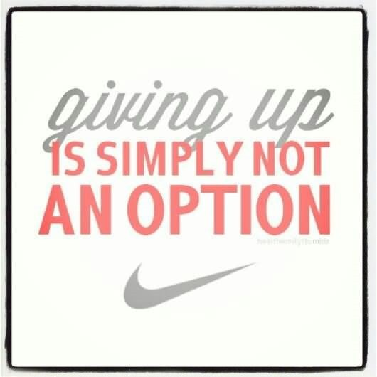 Giving Up Quotes Storemypic