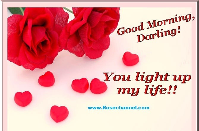 Good Morning Darling You Light Up My Life 001 Storemypic