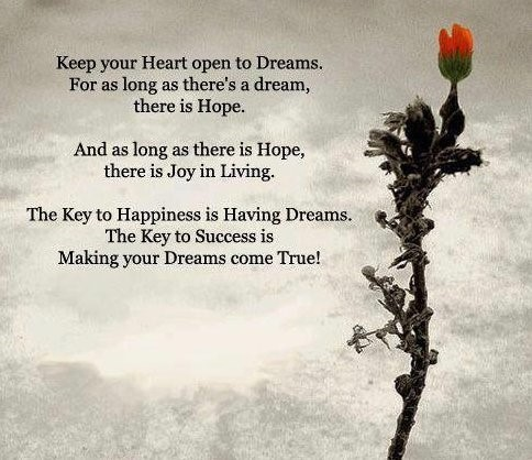 importance of hopes and dreams