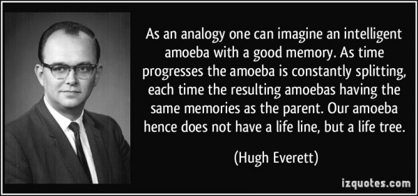 As analogy one can imagine an intelligent amoeba with a good memory