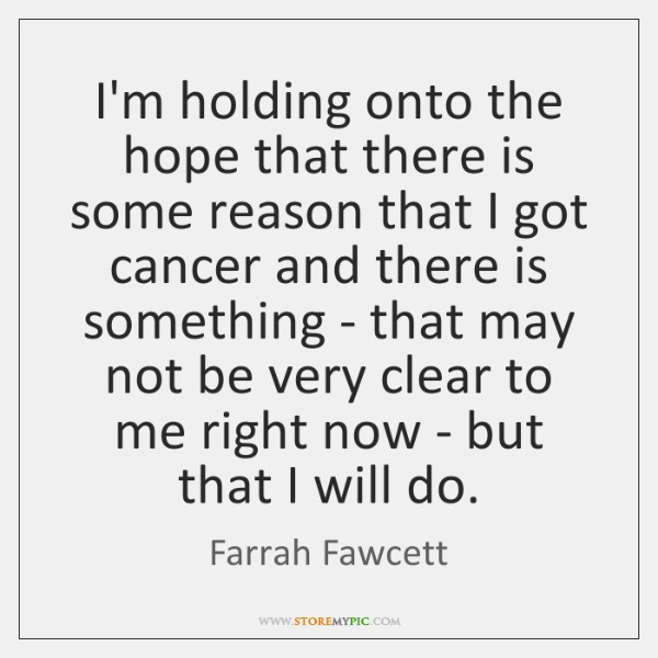 quotes about holding onto hope