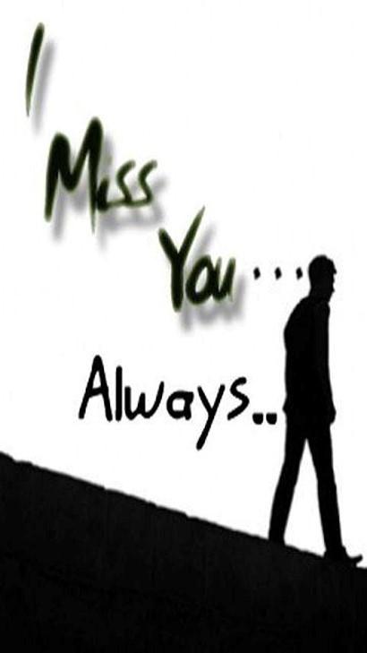 I miss you always alone guy