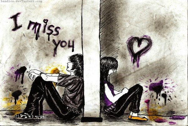 I Miss You Boy And Girl Storemypic