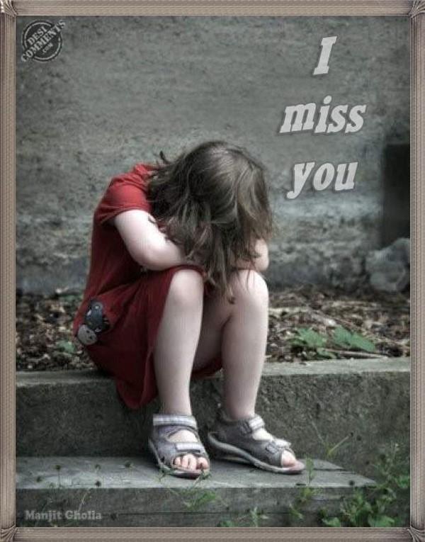 I Miss You Sad Girl Storemypic