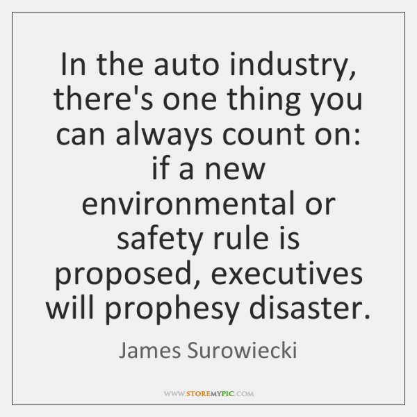 In the auto industry, there's one thing you can always count on: ...