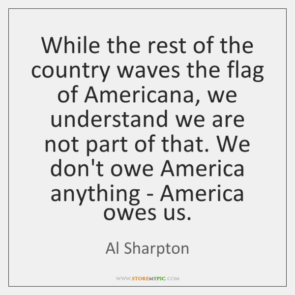 While the rest of the country waves the flag of Americana, we ...