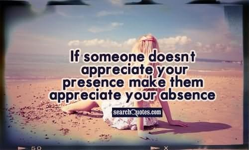 how to get someone to appreciate you