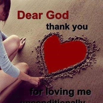 Dear God Thank You For Loving Me Unconditionally Storemypic