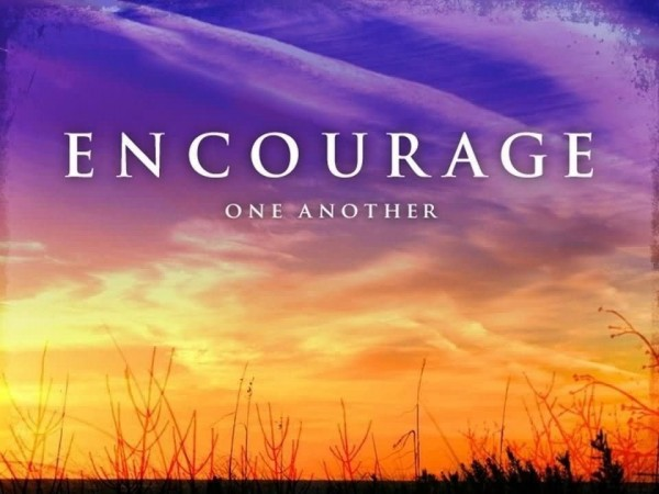 Encouarge one another ecouraging quote